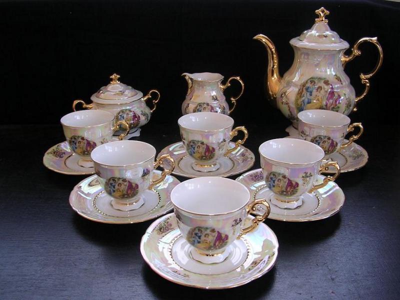 Porzellan Kaffeeservice Sonate 676 15St. - Leander Loučky ...