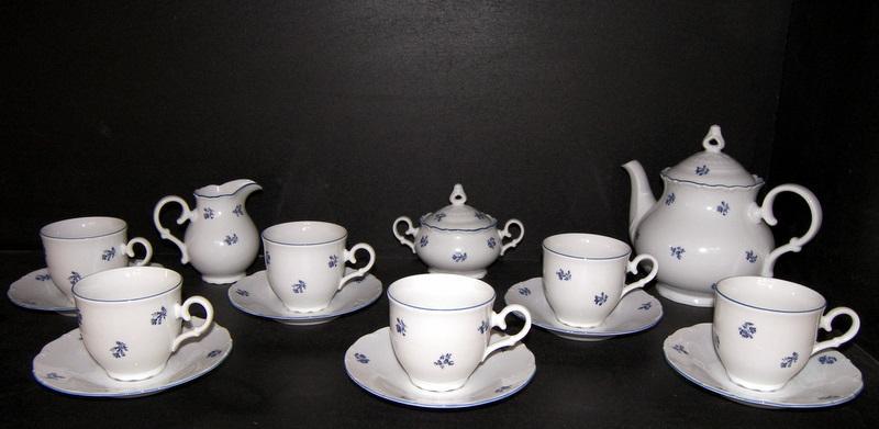 porzellan tee set ophelia 673v 15st moritz zdekauer kaffeeservice teeservice porcel n. Black Bedroom Furniture Sets. Home Design Ideas