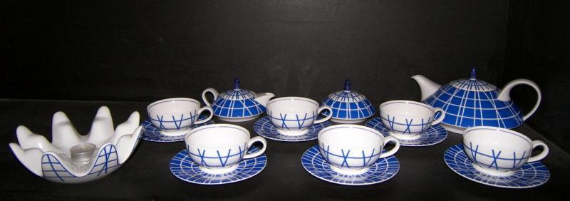 porzellan tee set galaxy blau 15st heizung design la tovi ka thun kaffeeservice. Black Bedroom Furniture Sets. Home Design Ideas