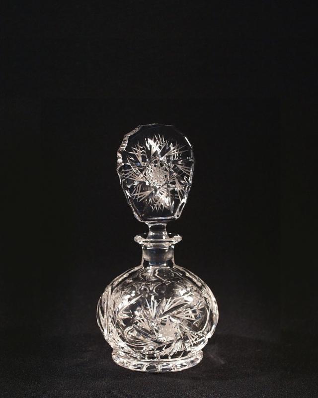 crystal schneiden flakon 56063 1 26008 017 tom crystal bohemia spr hflaschen und flaschen. Black Bedroom Furniture Sets. Home Design Ideas