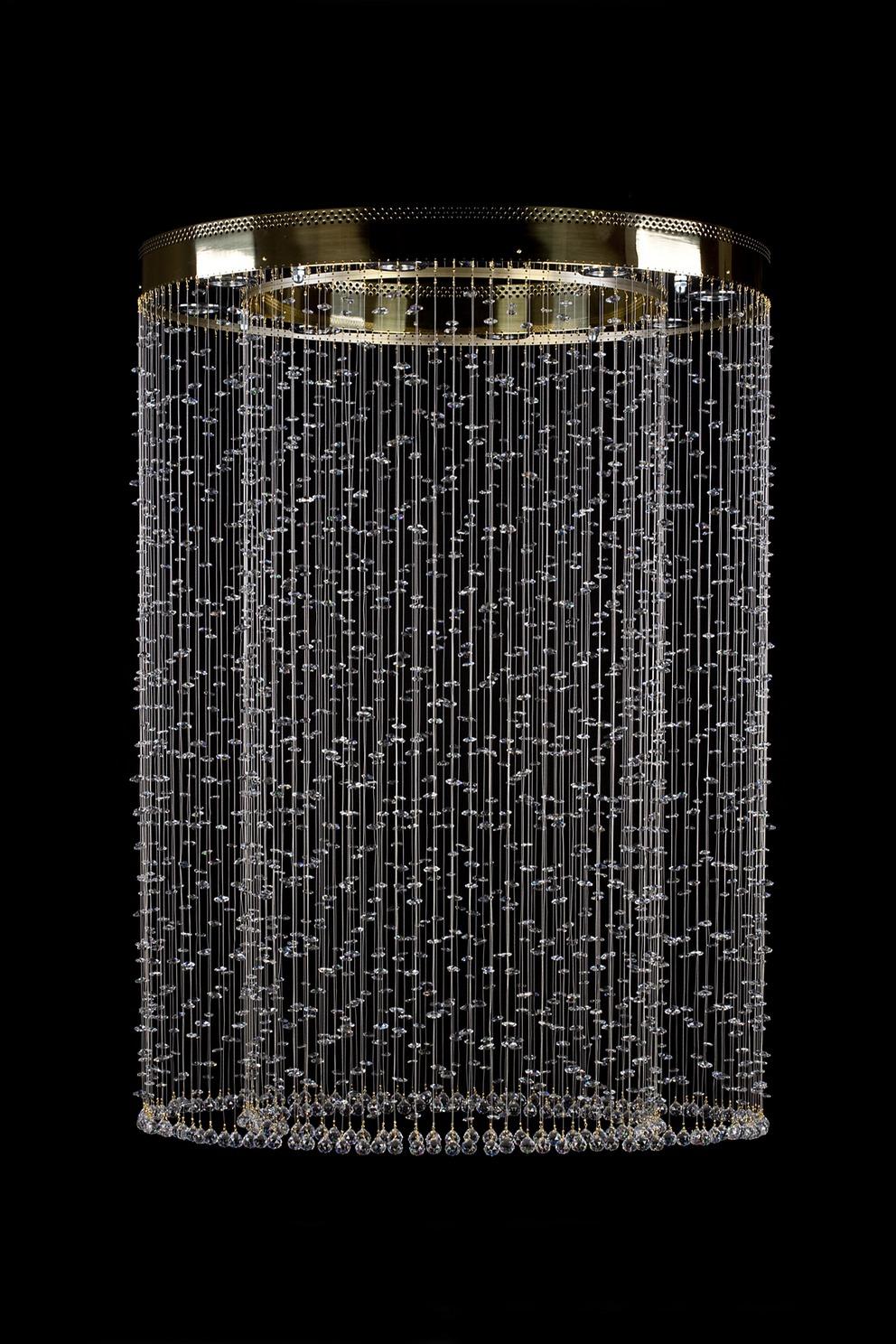 moderne kristall kronleuchter 1l464ce8 90x129 cm 8 lichter vergoldet art jbc moderne. Black Bedroom Furniture Sets. Home Design Ideas