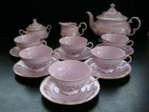 Tea Set Sonata 159 15d. rosa.