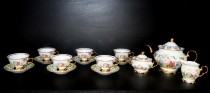 Tea set Fred luster three Graces Piece 15
