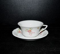 Tasse mit Untertasse Windsor Bouquet, 0,15l.